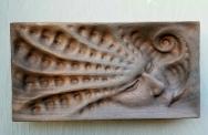 """Not yet titled - 12.5""""x6.2"""" - reclaimed mahogany - $550"""